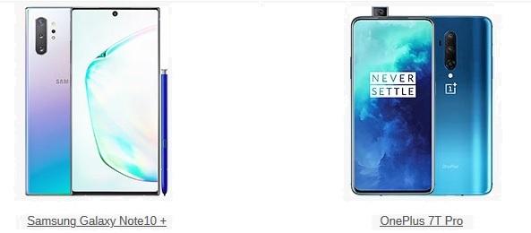 en iyi amiral gemisi telefon samsaung galaxy note 10 plus ve oneplus 7t pro - 2019'un En İyi Telefonları Belli Oldu