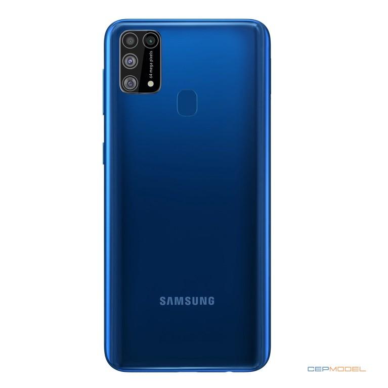 SAMSUNG Galaxy M31 ozellikleri mavi - Samsung Galaxy M31, 64 MP Dörtlü Arka Kamera ve 6.000 mAh Pil ile Gelecek