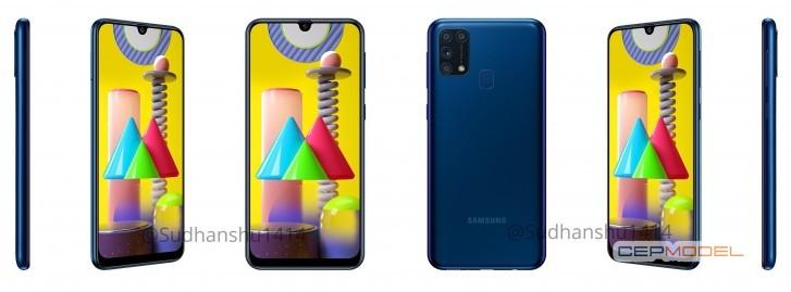 samsung galaxy m31 mavi - Samsung Galaxy M31'in Beklenen Renk Seçenekleri ve Teknik Özellikleri
