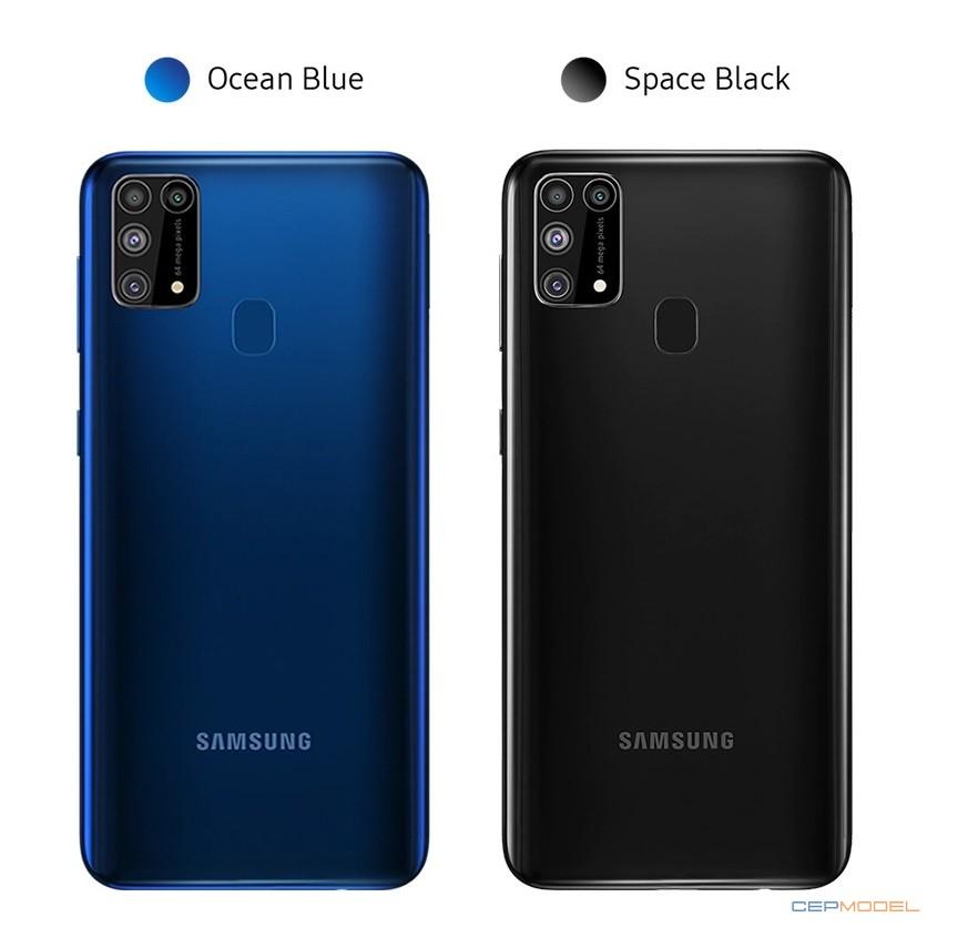 samsung galaxy m31 renkleri - Samsung Galaxy M31, Dört Kamera, 6.000 mAh Pil ve Android 10 ile Resmileşti