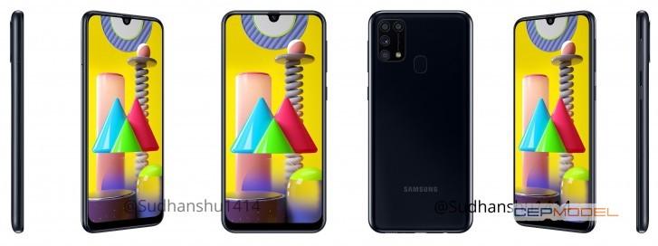 samsung galaxy m31 siyah - Samsung Galaxy M31'in Beklenen Renk Seçenekleri ve Teknik Özellikleri