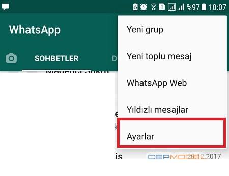 WhatsApp Karanlik Mod Android 2 - Whatsapp Karanlık Mod Nasıl Ayarlanır ?