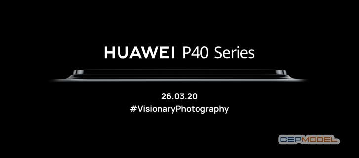 huawei p40 - Huawei P40 Lansman Tarihi Kesinleşti
