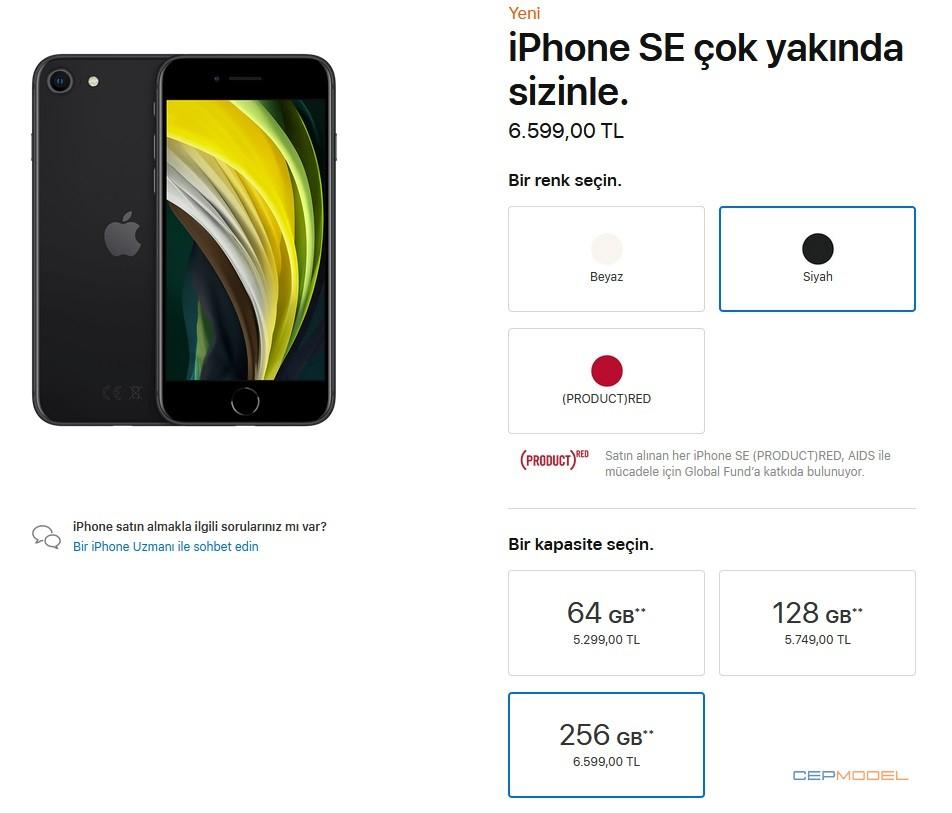 Apple iphone se 2020 3 - Apple iPhone SE (2020) Türkiye Fiyatı ve Çıkış Tarihi