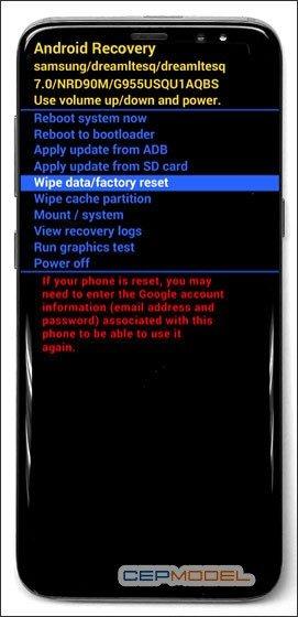 Samsung Galaxy S8 S8 Plus Hard Reset 2 - Samsung Galaxy A6 - A6 Plus Nasıl Sıfırlanır?