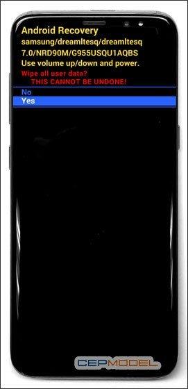 Samsung Galaxy S8 S8 Plus Hard Reset 3 - Samsung Galaxy A6 - A6 Plus Nasıl Sıfırlanır?