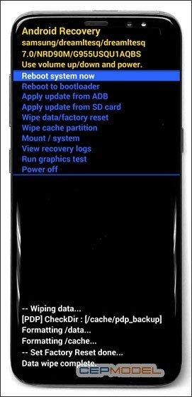 Samsung Galaxy S8 S8 Plus Hard Reset 4 - Samsung Galaxy A6 - A6 Plus Nasıl Sıfırlanır?