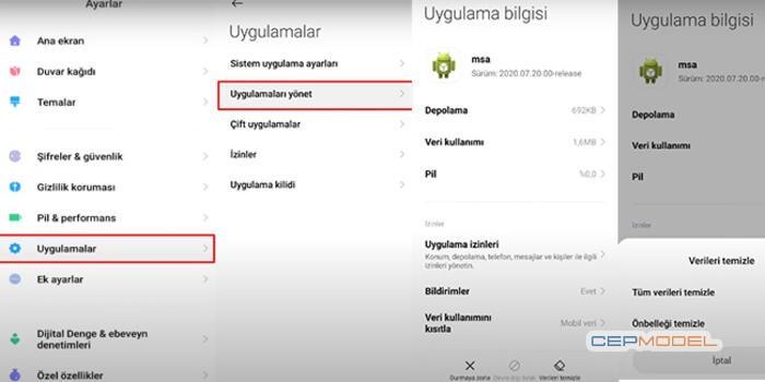 xiaomi msa durduruldu hatasi  - Xiaomi Telefonlarda Uygulama Durduruldu Hatası Nedir? Nasıl Düzeltilir?